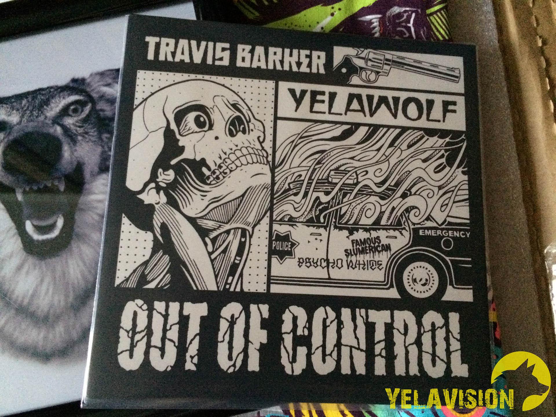 Распаковка: Комплект мерчендайза от Out of Control от Yelawolf'а и Трэвиса Баркера