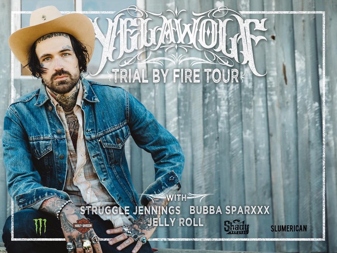 Yelawolf анонсировал даты тура «Trial By Fire Tour». Плюс информация о VIP-билетах
