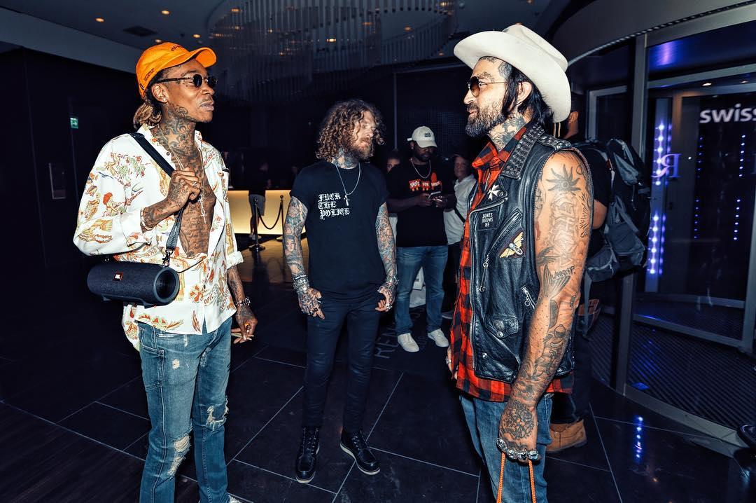 Yelawolf встретился с Wiz Khalifa