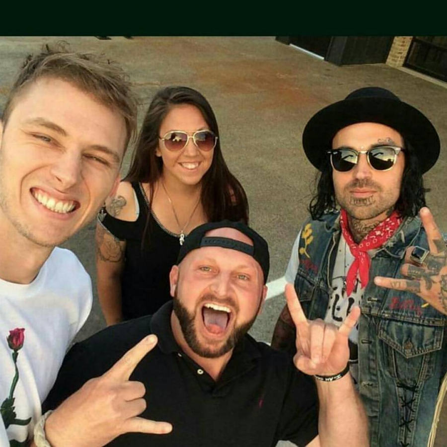 2017.05.04 - Machine Gun Kelly, Kid Rock и Yelawolf в Нэшвилле