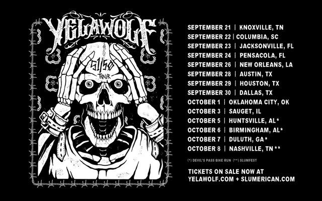 Shady Records анонсировал тур Yelawolf'а в поддержку альбома Trial By Fire