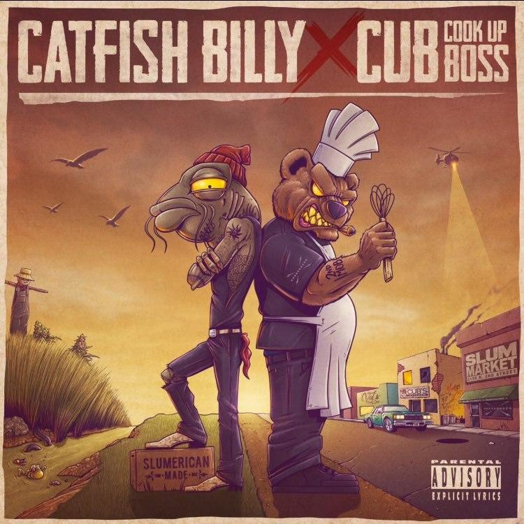 [Премьера] Мини альбом от Catfish Billy и Cub da CookUpBoss. Он так и называется
