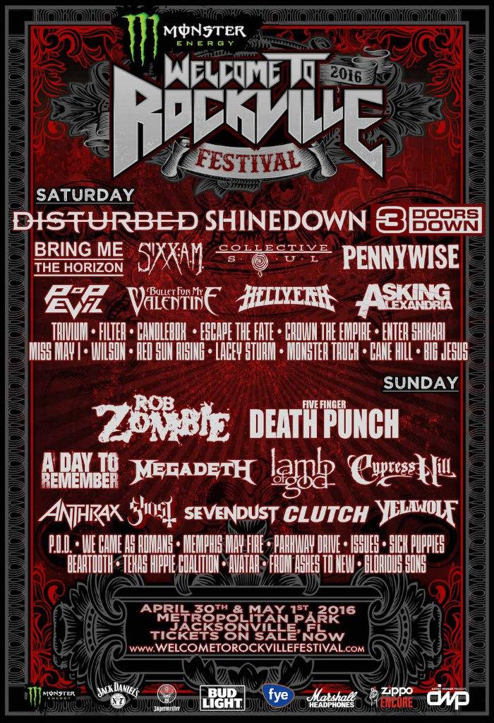 Yelawolf выступил на фестивале Welcome to Rockville. 2 мая 2016 года